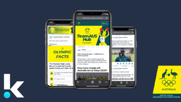 Australian Olympic Committee passes the baton to Komo Digital for fan engagement at the Tokyo Games