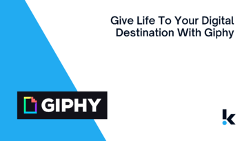 Give Life To Your Digital Destination With Giphy