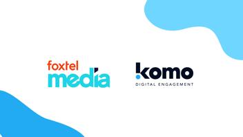 foxtel media komo partnership announcement