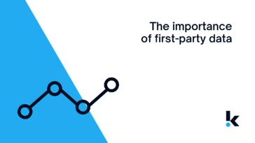 the importance of first party data