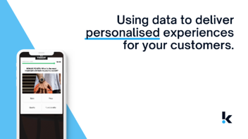 Using Data To Deliver Personalised UX