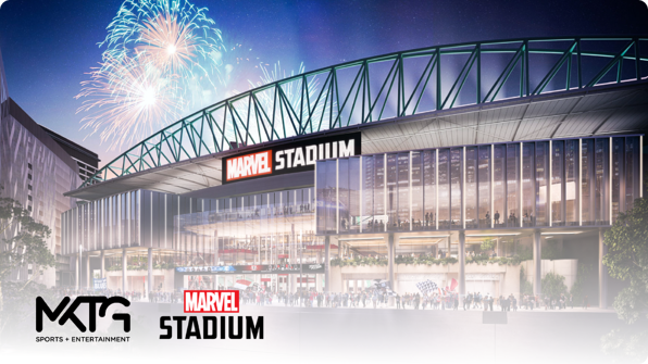 How Marvel Stadium & MKTG created an interactive Komo Engagement Hub for fans to play and be rewarded in-stadium